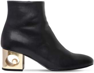 Tiffany & Co. 55mm Leather Ankle Boots