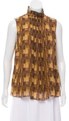Akris Silk Sleeveless Top