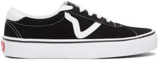 Vans Black and White Sport Sneakers