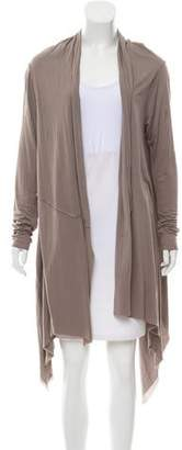 Yigal Azrouel Draped Open Front Cardigan