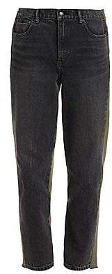 Alexander Wang Women's Sweatpant & Denim Combo Pants
