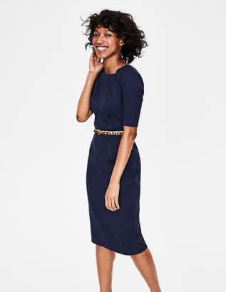 Boden Blue Knee Length Dresses Shopstyle Uk