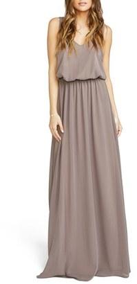 Women's Show Me Your Mumu Kendall Soft V-Back A-Line Gown $162 thestylecure.com