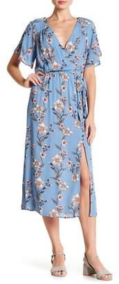 MinkPink Somerset Floral Midi Dress