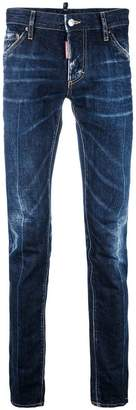 DSQUARED2 denim stonewash slim jeans