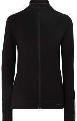 Falke Ergonomic Sport System - Delight Paneled Stretch-knit Ski Jacket - Black