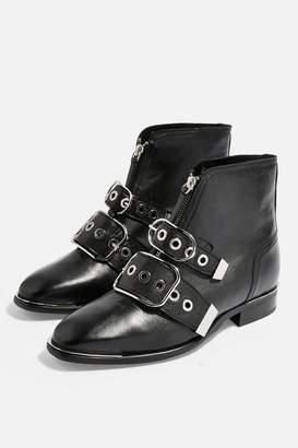 f39977a29e Topshop WIDE FIT ALEX Low Ankle Boots