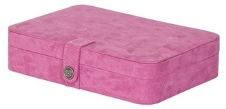 Mele Designs Maria Plush Fabric Jewelry Box with 24 Sections