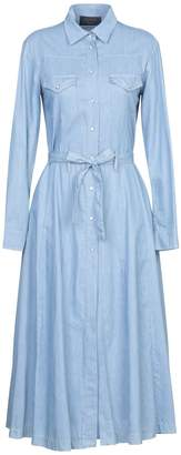Kaos JEANS 3/4 length dresses - Item 34981326SF