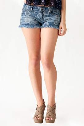 Ocean Drive Printed Denim Shorts