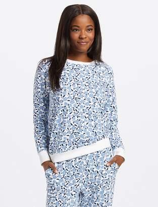 Draper James Floral Long Sleeve Sweatshirt