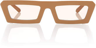Karen Walker Shipwrecks Rectangle Acetate Sunglasses