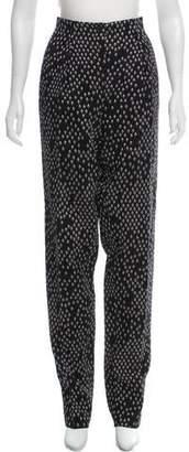 Bottega Veneta High-Rise Straight-Leg Pants