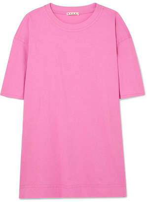 Marni Oversized Cotton-jersey T-shirt - Pink