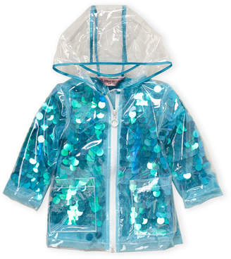 Urban Republic Toddler Girls) Allover Sequin Raincoat