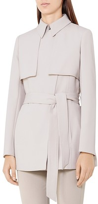 REISS Lester Trench-Style Jacket $465 thestylecure.com