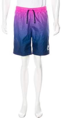 Nike Gradient Logo Track Shorts