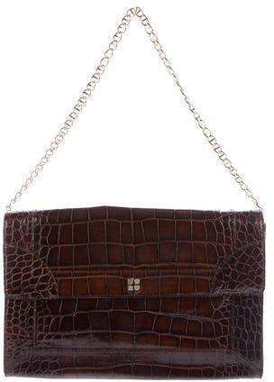 Kate SpadeKate Spade New York Embossed Leather Flap Bag