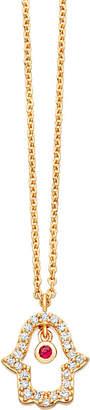 Astley Clarke Biography 14ct yellow-gold evil eye pendant