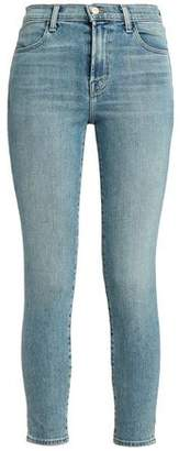 J Brand Faded High-Rise Skinny Jeans