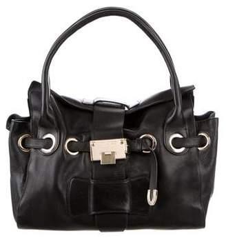 Jimmy Choo Rosalie Leather Shoulder Bag