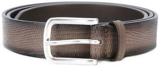 Orciani lizard skin effect belt