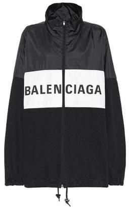 Balenciaga Oversized logo jacket
