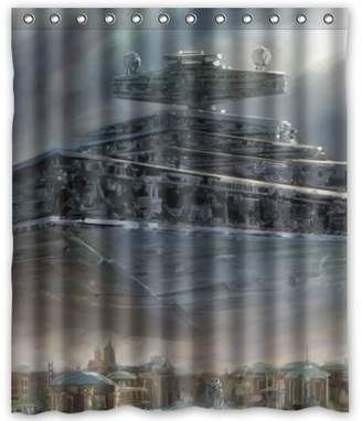 """Star Wars Outlet-Seller Custom Amazing Science Shower Curtain 60"""" x 72"""""""