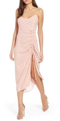 AFRM Favor Ruched Midi Dress