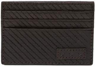 John Varvatos Leather Credit Card Case