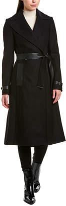 Karen Millen Wool-Blend Coat