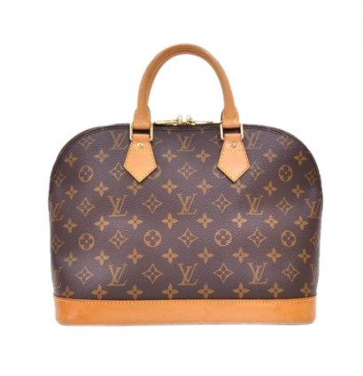 Louis Vuitton very good (VG Alma Brown Monogram Canvas Bag