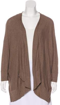 Minnie Rose Knit Open-Front Cardigan