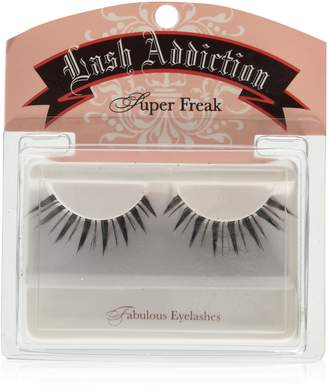 Rob-ert Reese Robert Beauty Super Freak Strip Lashes Black with Clear Band, 1-Count