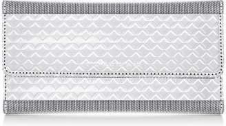 Stewart/Stand RFID Blocking Continental Clutch, Small Diamond Texture