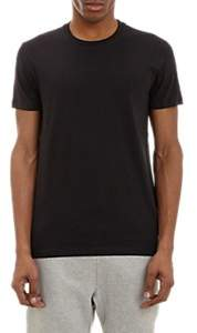 Barneys New York MEN'S COTTON CREWNECK T-SHIRT - BLACK SIZE XL
