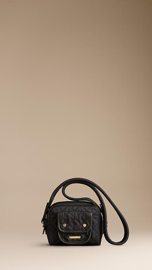 Burberry Diamond Quilted Crossbody Bag