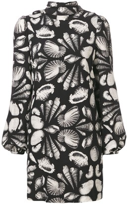 Alexander McQueen shell print dress