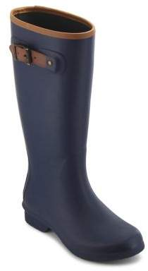 Chooka City Matte Rubber Tall Rain Boots