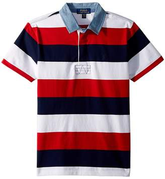 Polo Ralph Lauren Striped Jersey Rugby Shirt Boy's Clothing