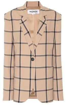 Monse Checked blazer