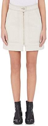 Isabel Marant Women's Penelope Denim Miniskirt $370 thestylecure.com