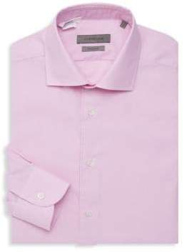 Corneliani Wrinkle Free Micro Check Dress Shirt