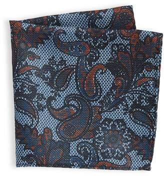 Sondergaard Paisley-Print Pocket Square