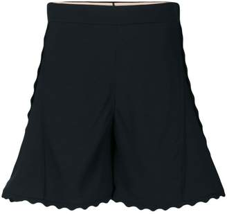 Chloé scalloped shorts
