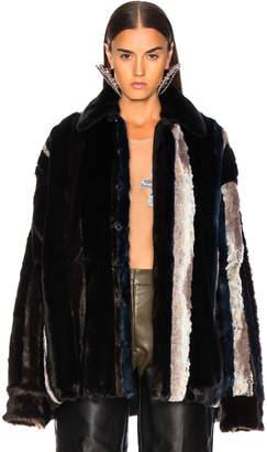 Y/Project Faux Fur Shirt