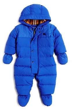 Burberry Boys' Ezra Down Puffer Snow Suit - Baby