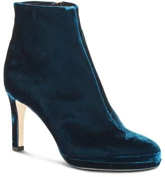 Hobbs London Julietta Velvet High Heel Booties