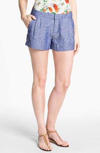 Joie 'Merci B.' Chambray Shorts
