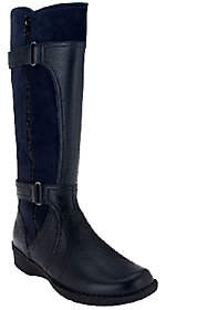 Clarks Leather Medium Calf Boots -Whistle Whey